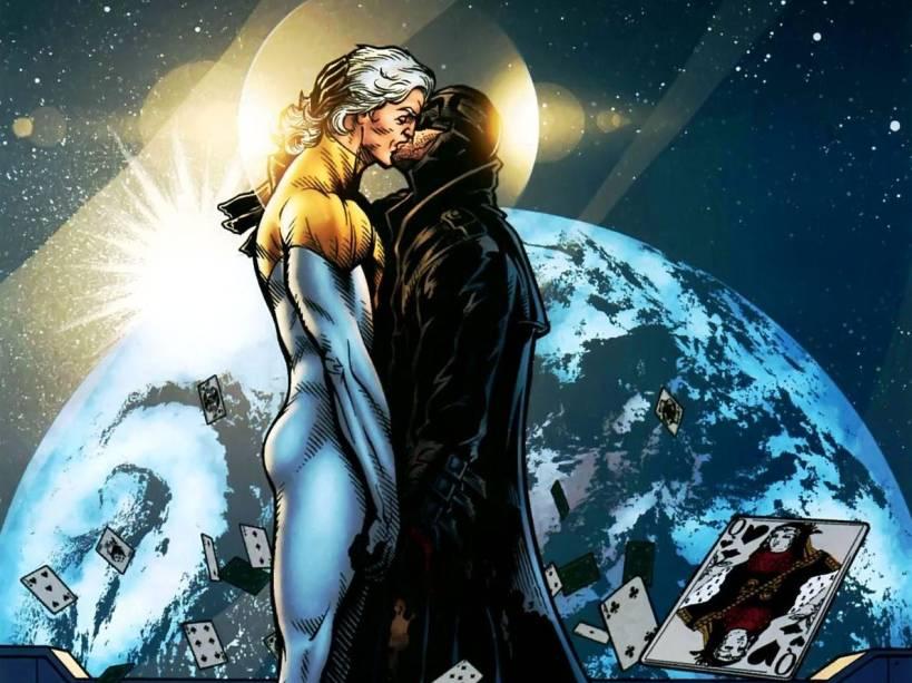 No final dos anos 1990, a DC Comics apostou em uma equipe de super-heróis violenta, chamada Stormwatch. Entre seus líderes estavam Apolo e Meia-Noite, que também foram protagonistas de uma das HQs mais celebradas de todos os tempos, The Authority. Versões do Superman e do Batman, eles foram o primeiro casal gay dos quadrinhos, inclusive tendo seu casamento retratado na última edição de Authority.
