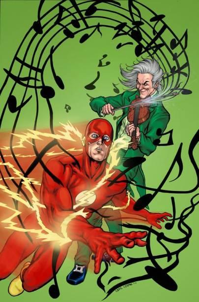 Vilão das histórias do Flash, o Flautista foi um dos primeiros personagens abertamente gays das histórias em quadrinhos. Criado em 1959, ele saiu do armário em The Flash #53, história em quadrinhos publicada em 1951.
