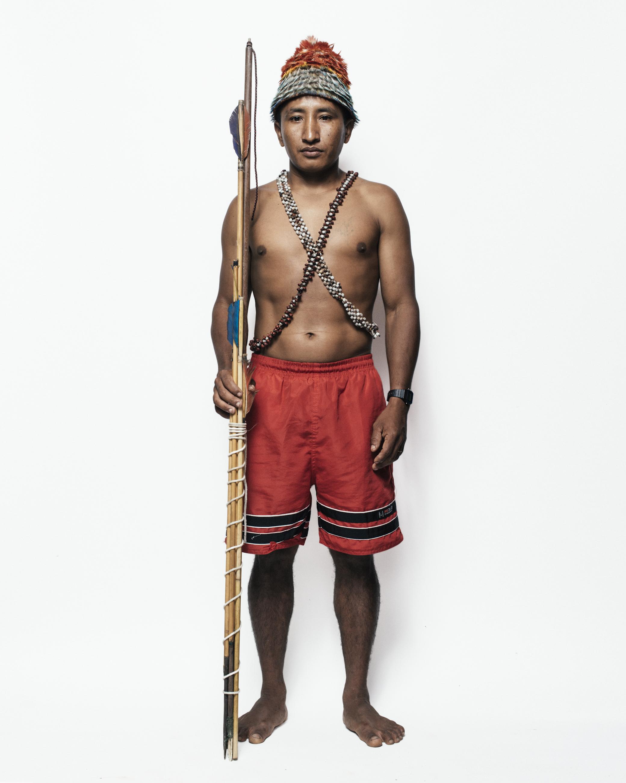 Ivair Dace, indígena da etnia Munduruku, Pará, 2014. Filipe Redondo/Fotografia