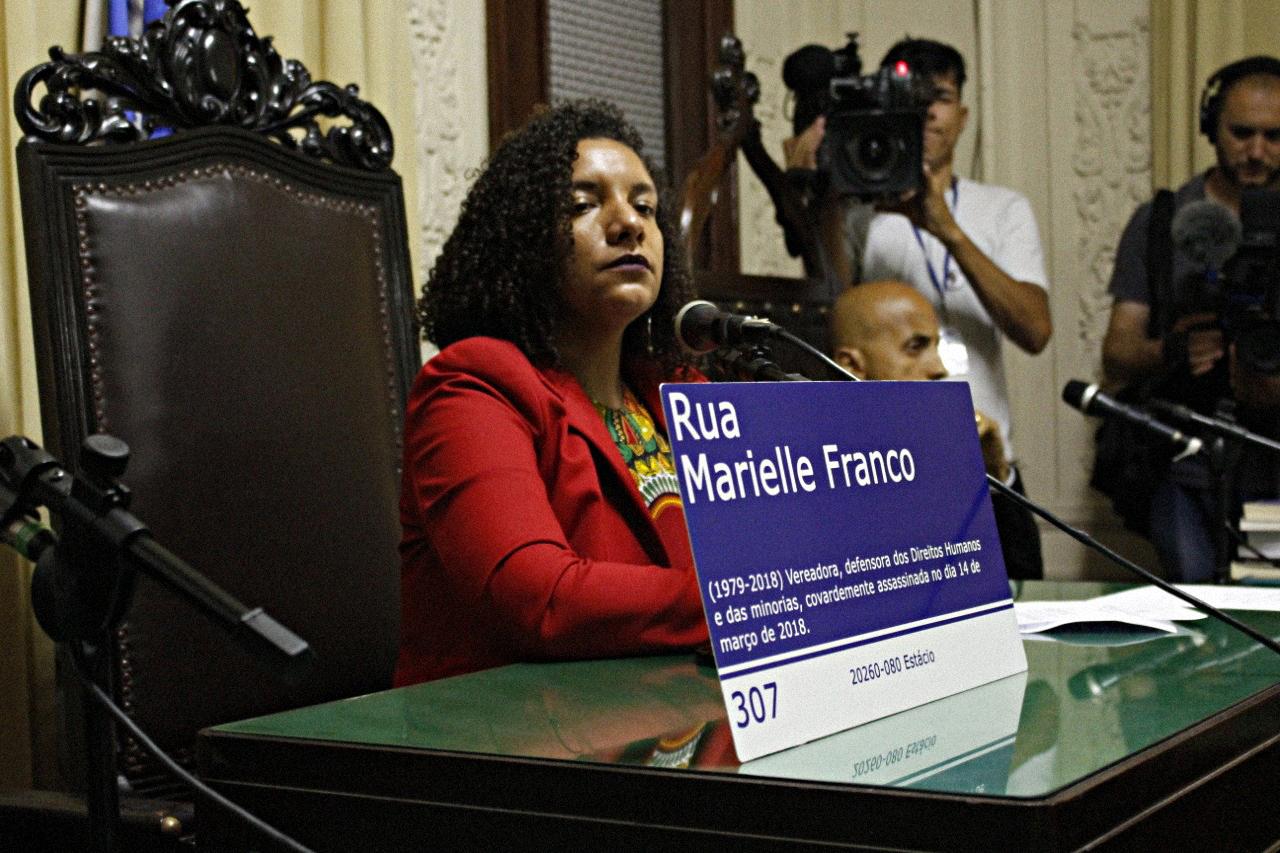 Renata Souza, ex-chefe de gabinete de Marielle e deputada estadual mais votada da esquerda no Rio em 2018