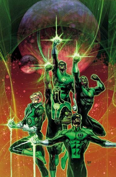 A tropa estelar dos Lanternas-Verde é composta por seres de todo o universo da DC Comics. Apenas no planeta Terra, seus integrantes são uma miríade de diversidade. Jon Stewart é negro, Simon Baz é muçulmano, e uma versão alternativa de Alan Scott, o primeiro deles, é gay.