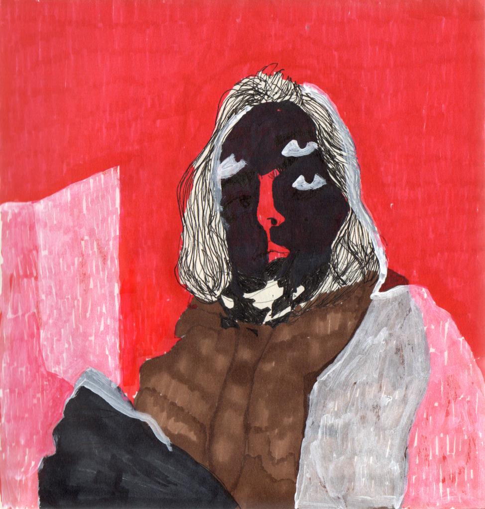 auto-retrato Julia Jabur Zemella