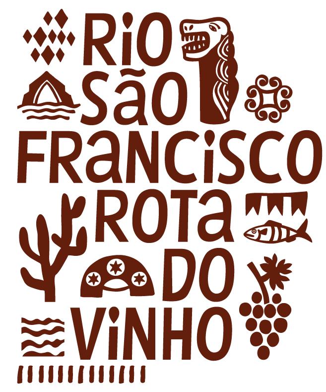 Parte da identidade visual criada por Joana para o estado de Pernambuco.