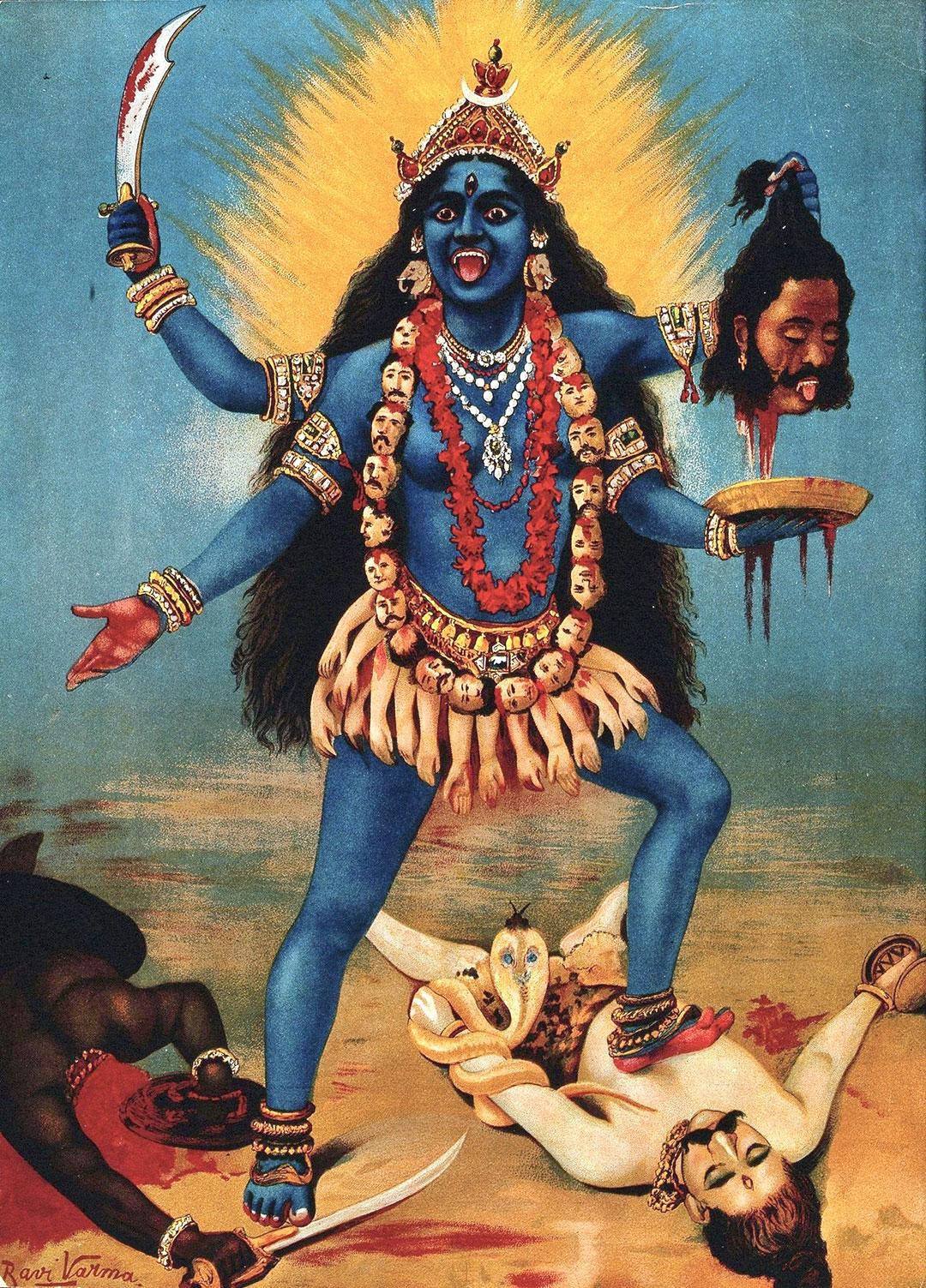 Goddess Kali, 1910