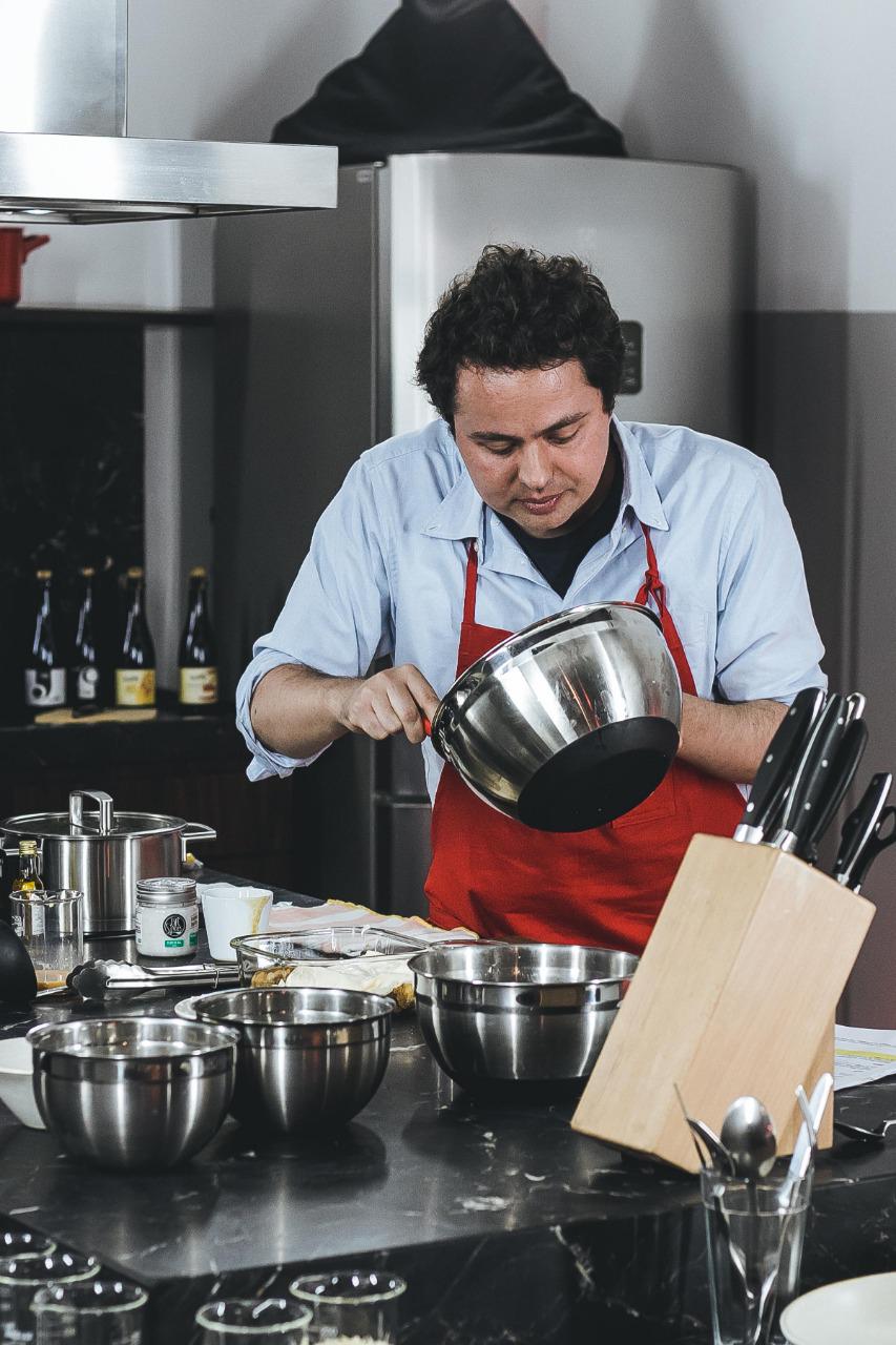 O chef Raphael Despirite.
