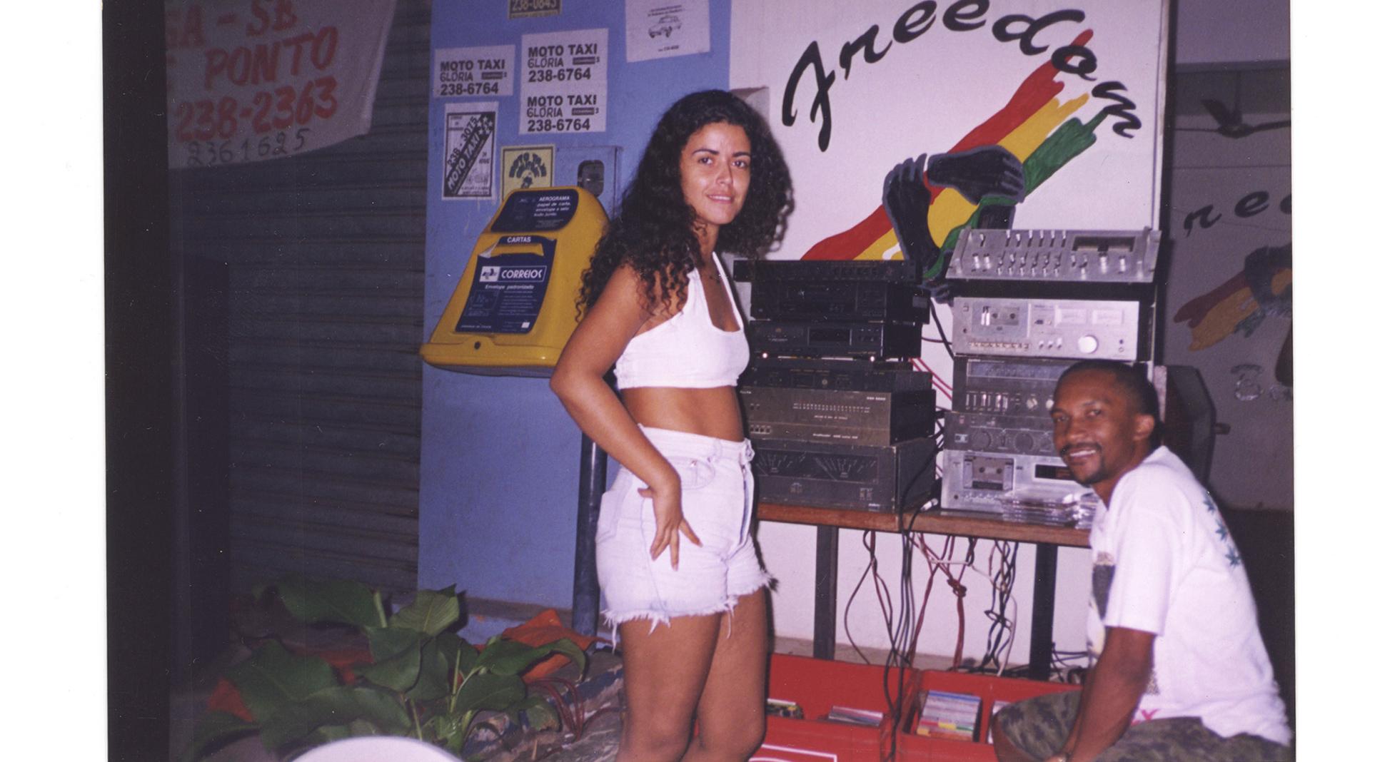 Valéria e o Dr Jorge Black nos anos 90.