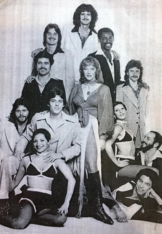 A primeira formação do Andrea True Connection, 1979