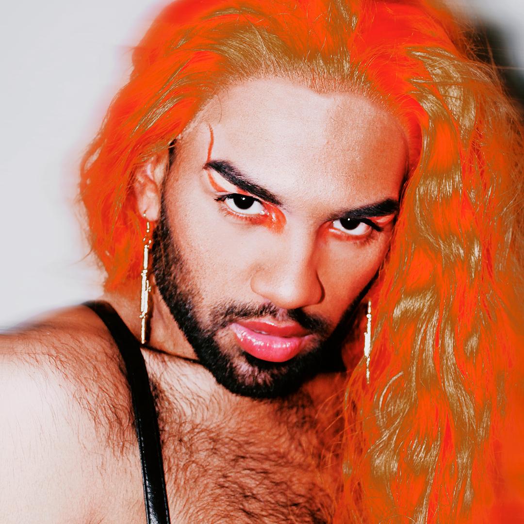 O rapper Harlley, integrante do Quebrada Queer