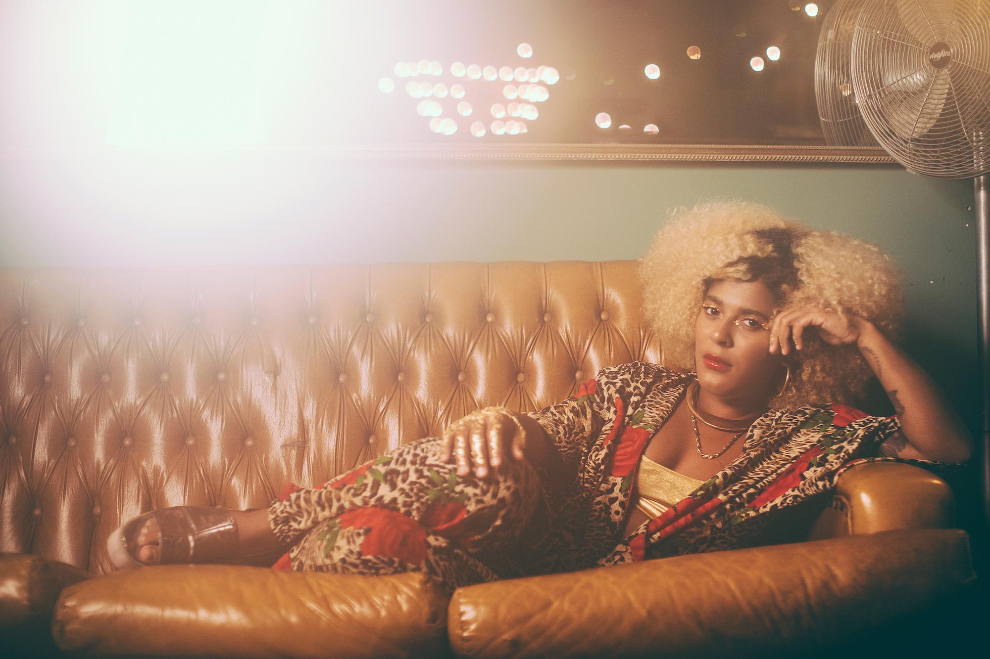 A cantora Josyara