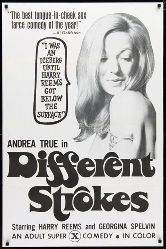 Poster de filme pornô estrelado por Andréa