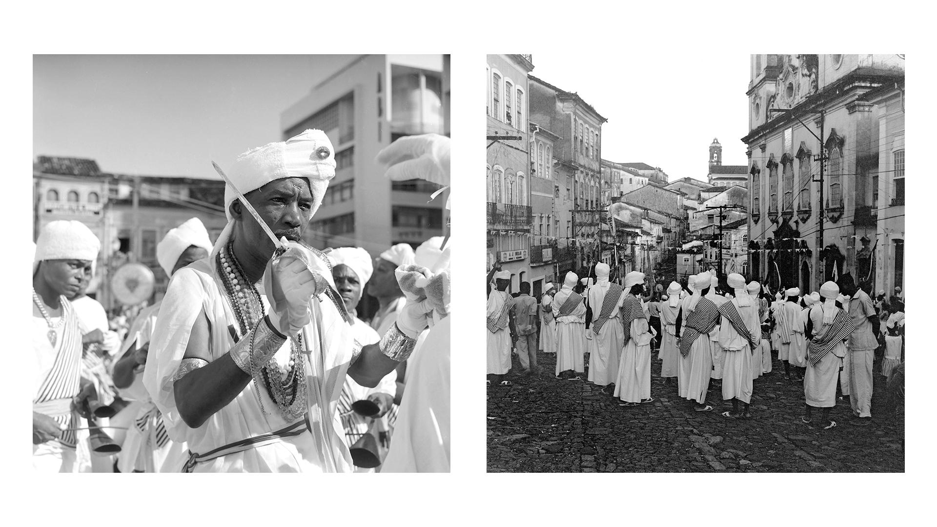 Afoxé Filhos de Gandhi no Carnaval. Salvador – BA, 1964
