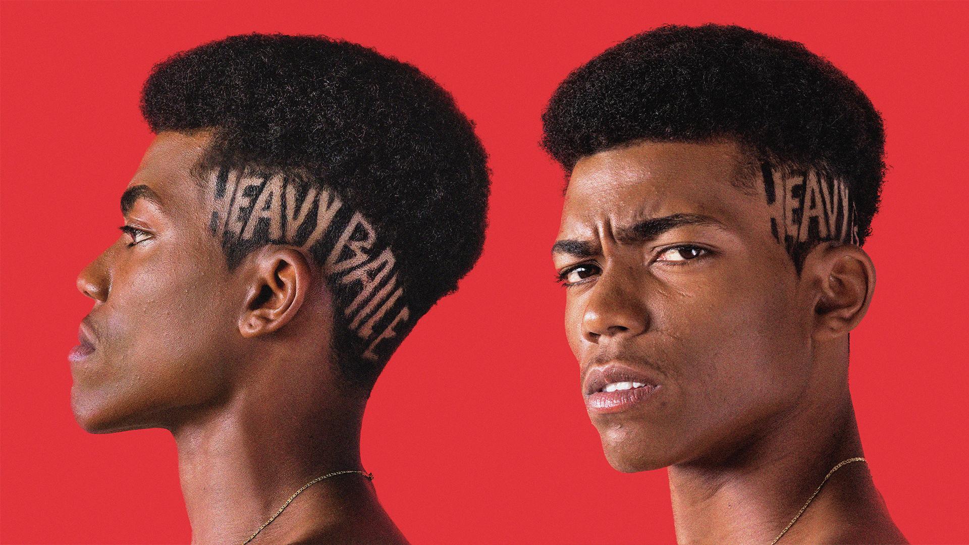 Fotos da capa do primeiro álbum de estúdio do grupo Heavy Baile, que tiveram direção de arte de Leandro Assis –
