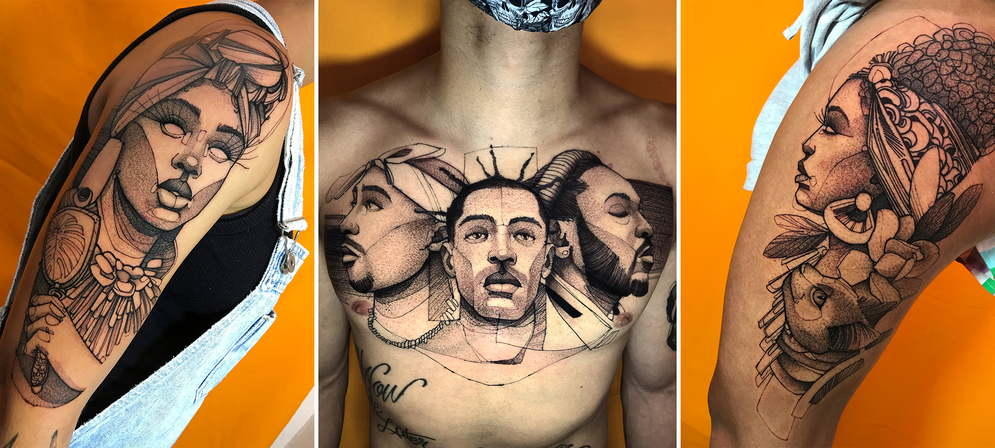 Tatuagens Pablo Xamã