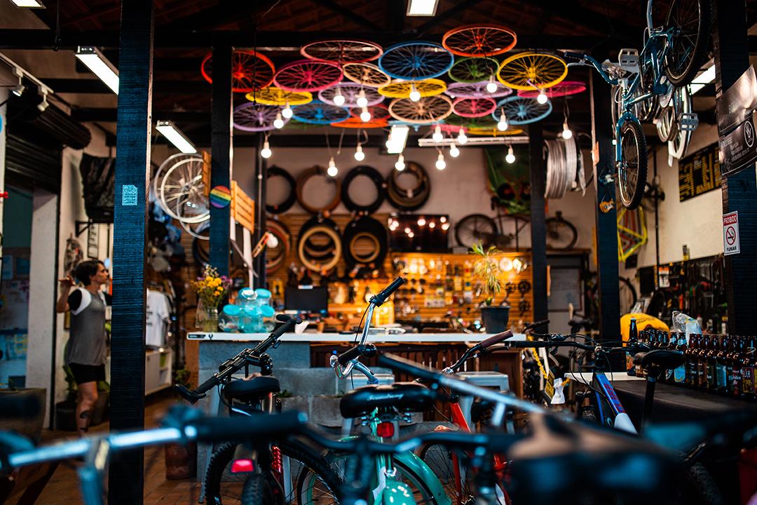 Reciclo Bikes em Recife, focada em customização e venda de acessórios