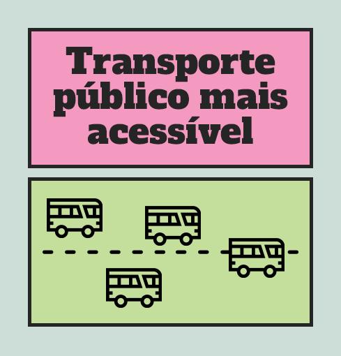 Transporte público mais acessível