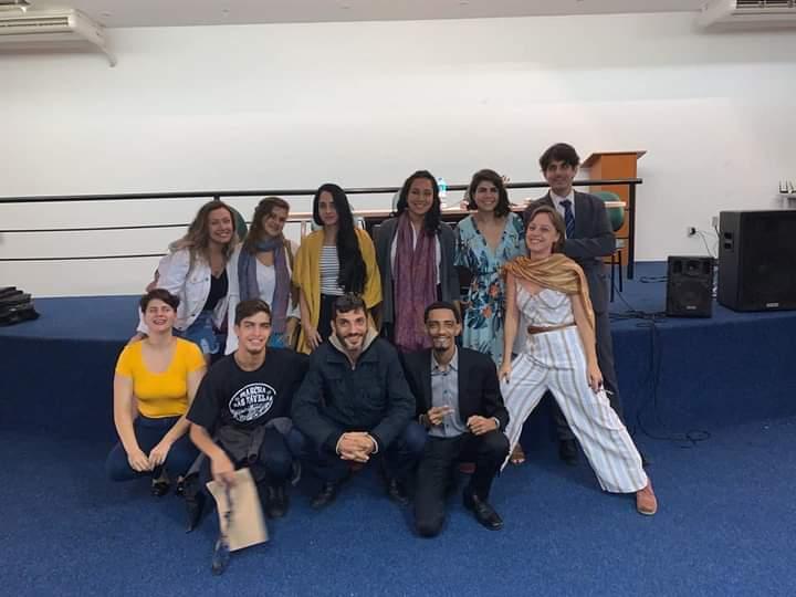 Parte do time da Rede Reforma, no III seminário sobre os usos terapêuticos da Maconha