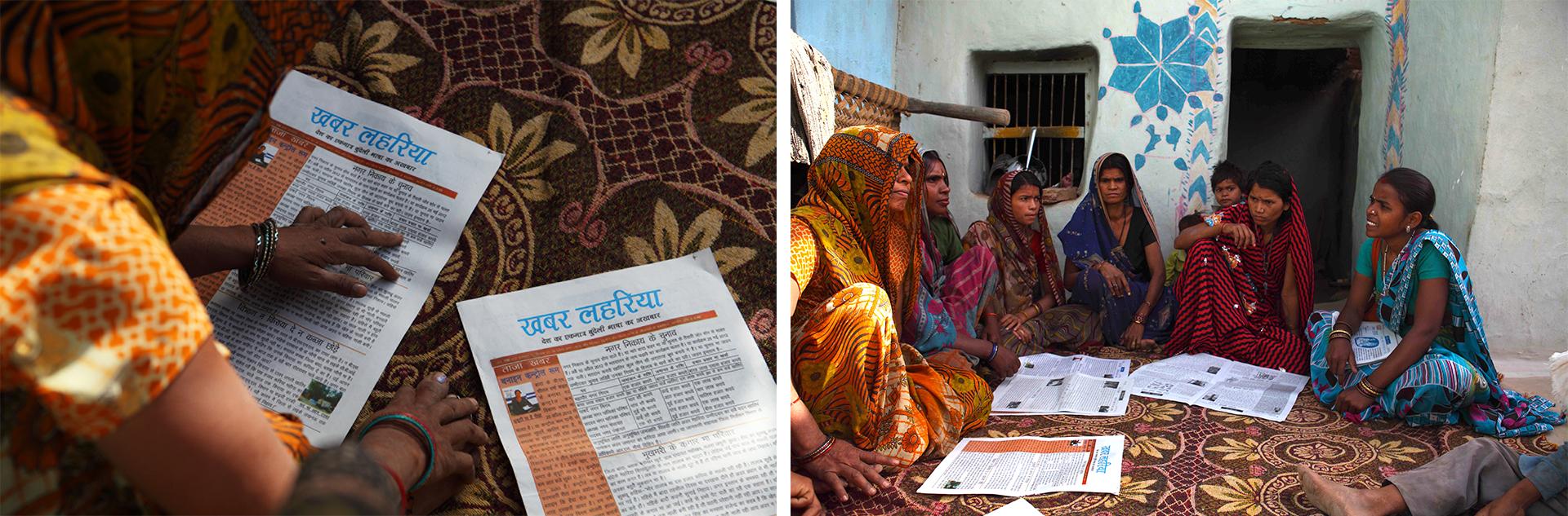 Khabar Lahariya, o primeiro jornal escrito por e para mulheres dalits